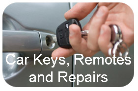 Car keys cut, programmed and repaired